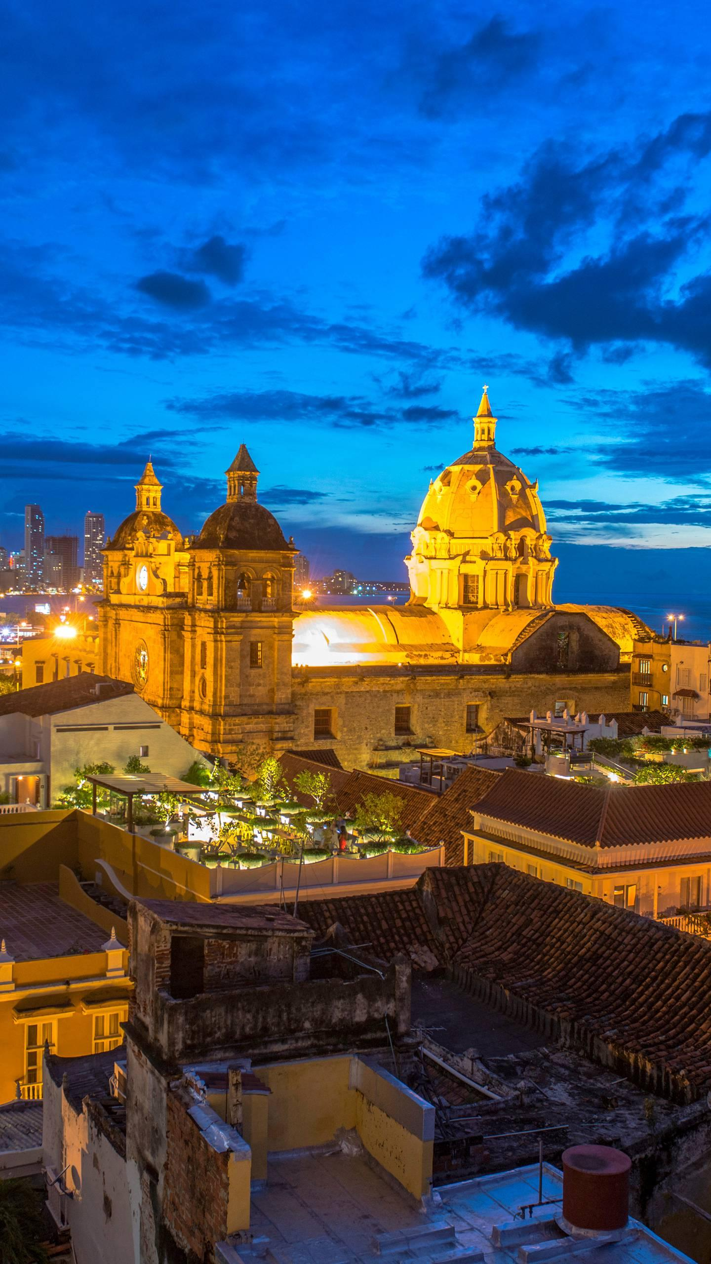 Colombia - Cartagena. One of the most fascinating cities in Colombia, known as the ancient fortress, is known as the most beautiful place in Latin America.