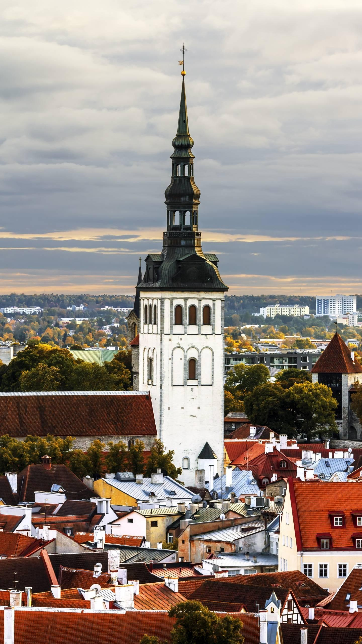 "Tallinn. A well-connected country in Tallinn, known as the ""crossroads of Europe"", reveals medieval style everywhere."