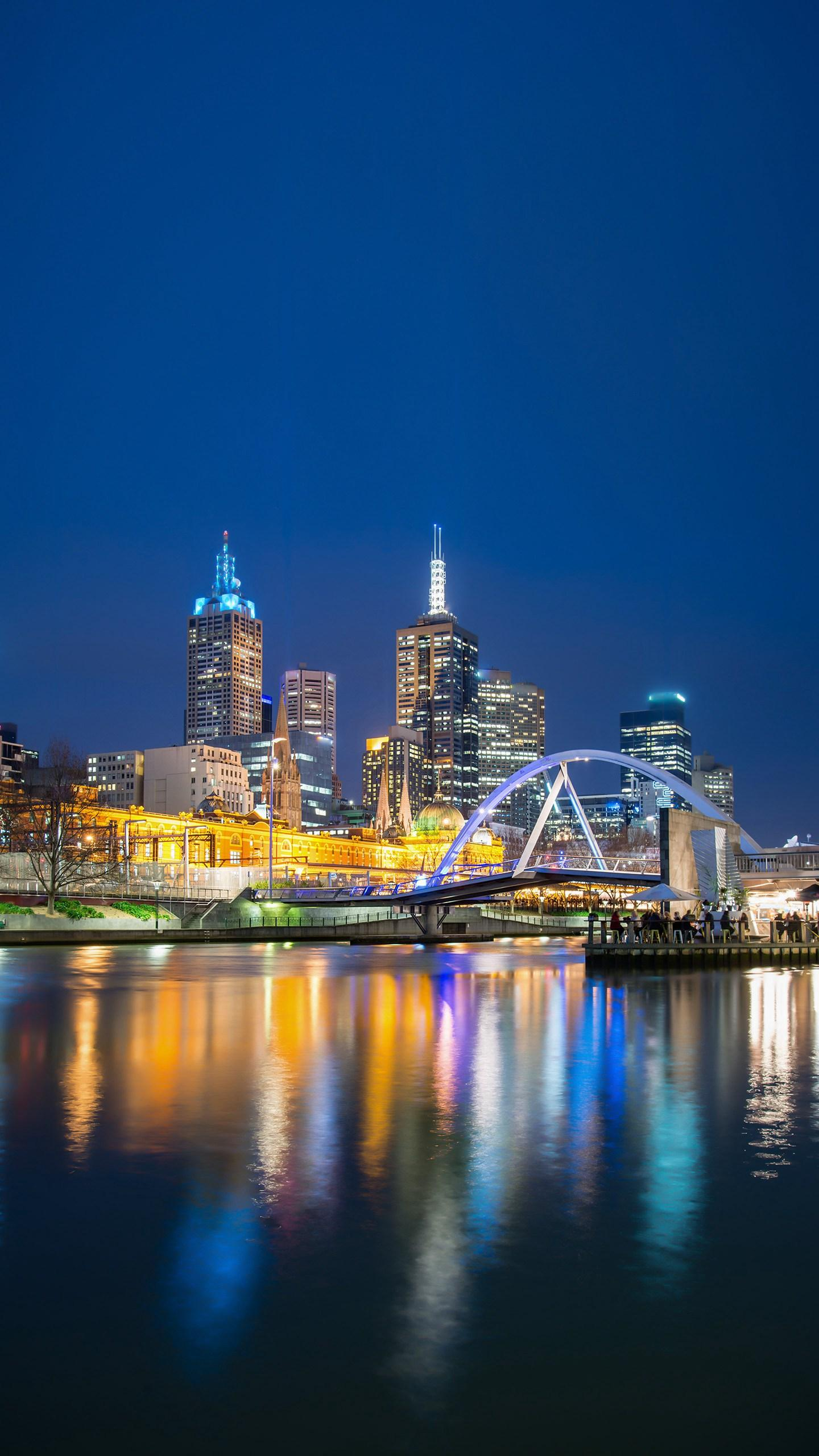 Australia - Melbourne. It attracts travelers from all over the world, from its glorious human history to its enticing entertainment.