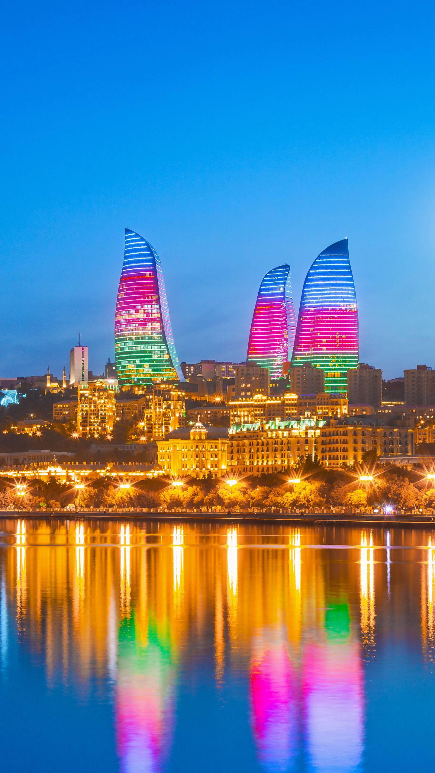 Azerbaijan - Baku. An ancient city with a long history. There are many places of interest in the city and it is the capital of Azerbaijan. ©Engraving Media