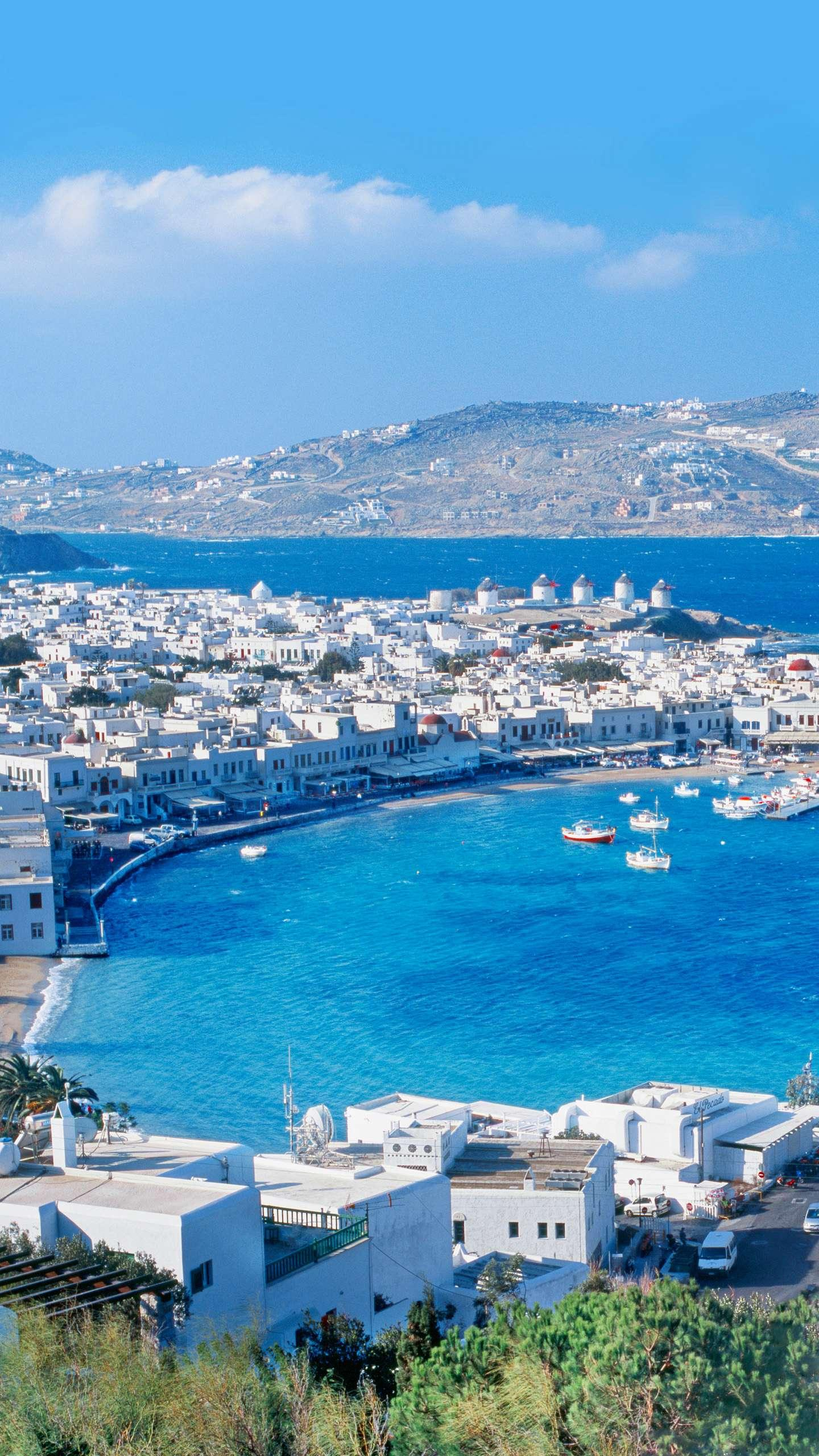 Greece - Mykonos, Greece's romance is far more than Santorini, and Mykonos is also a holiday island that tourists love.