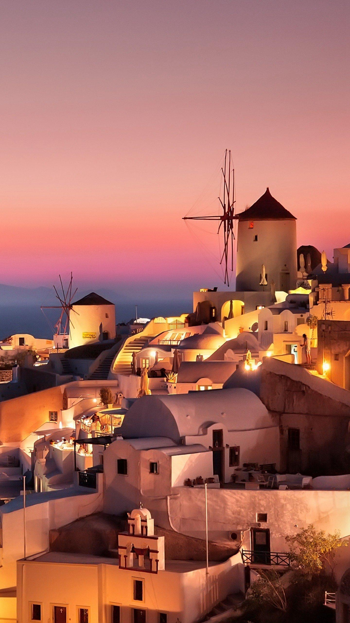 A romantic place. Santorini is the brightest pearl in the Aegean Sea, giving a dreamy and unreal feeling.