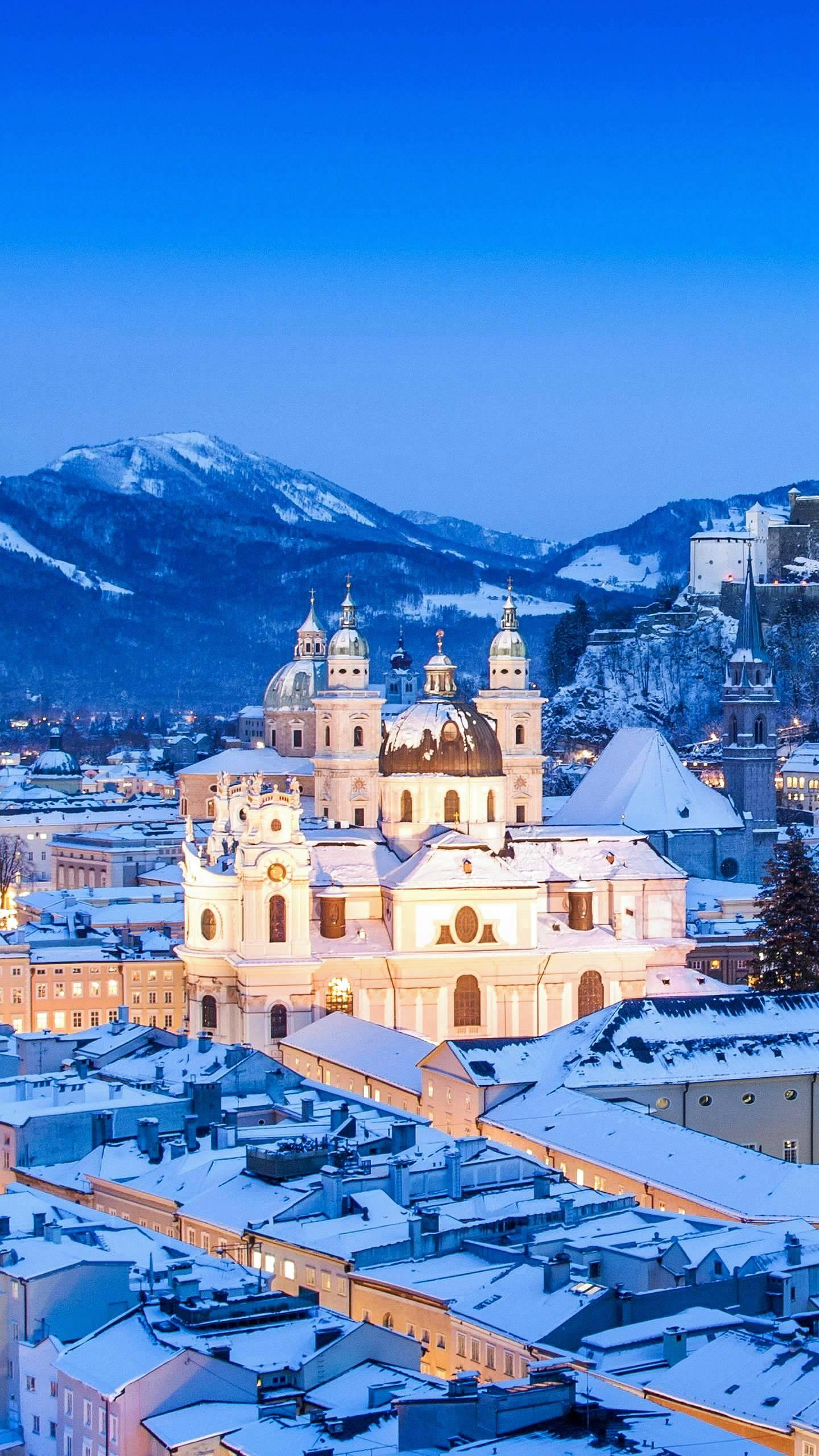 "Salzburg. Salzburg is not only the place where the music prodigy Mozart was born, but also the location of the film masterpiece ""The Sound of Music""."