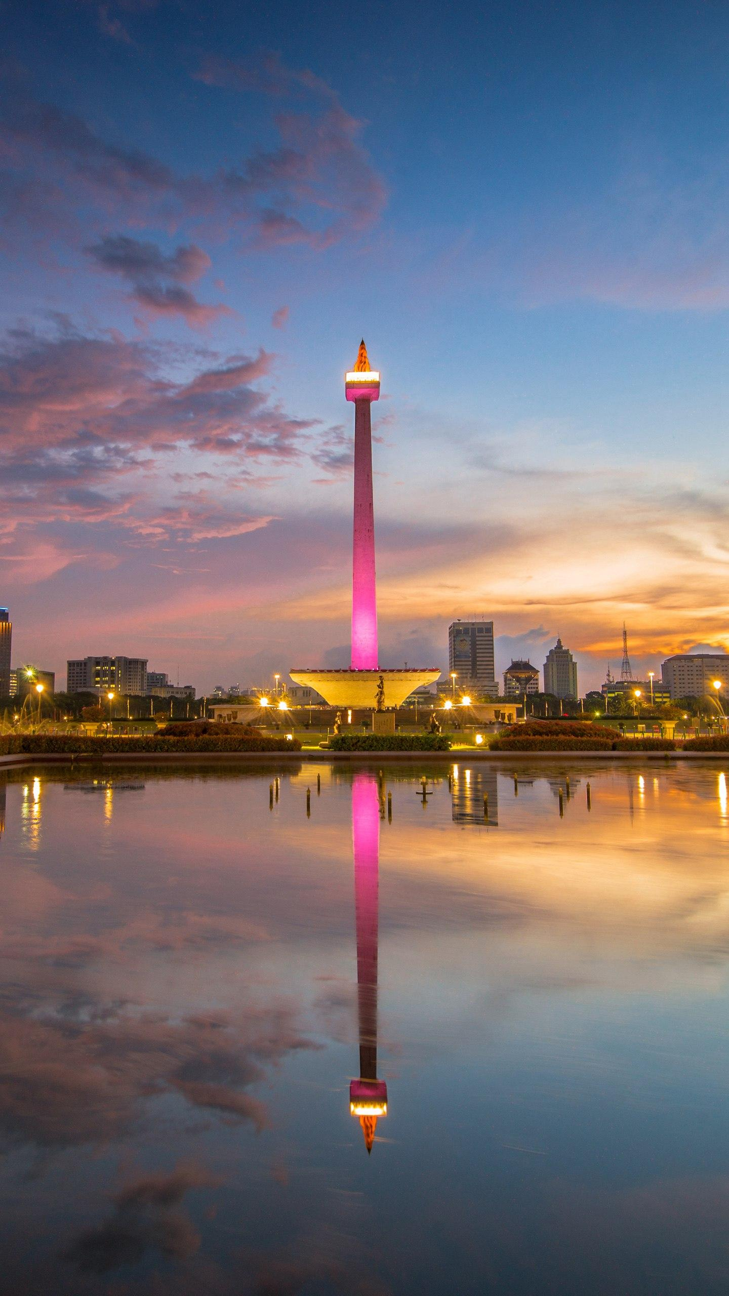 Indonesia - Jakarta. A historic city with a long history, it has become a port city that has begun to take shape in the 14th century.
