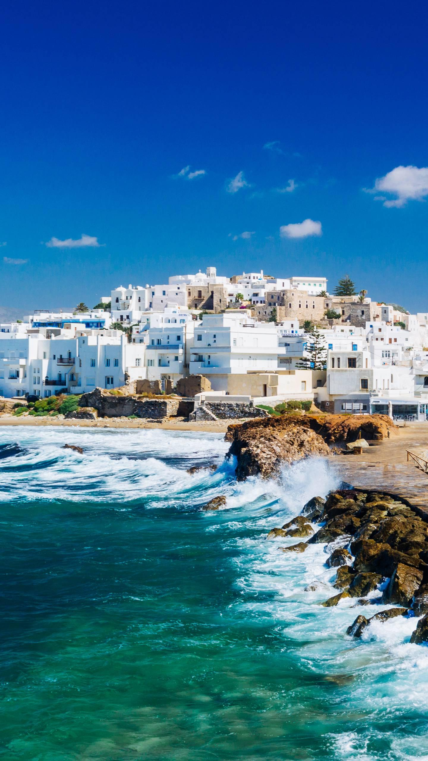A charming Greek island. Each Greek island has its own unique charm and is a holiday paradise for different types of travellers.
