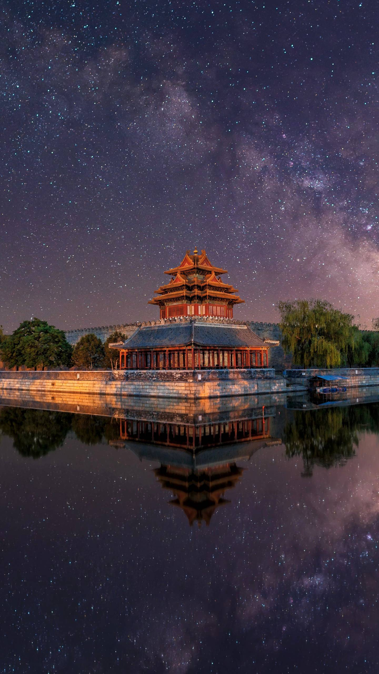 There are four corner buildings in the Forbidden City in Beijing, which are located in the four corners of the southeast, northeast, southwest and northwest of the Forbidden City.