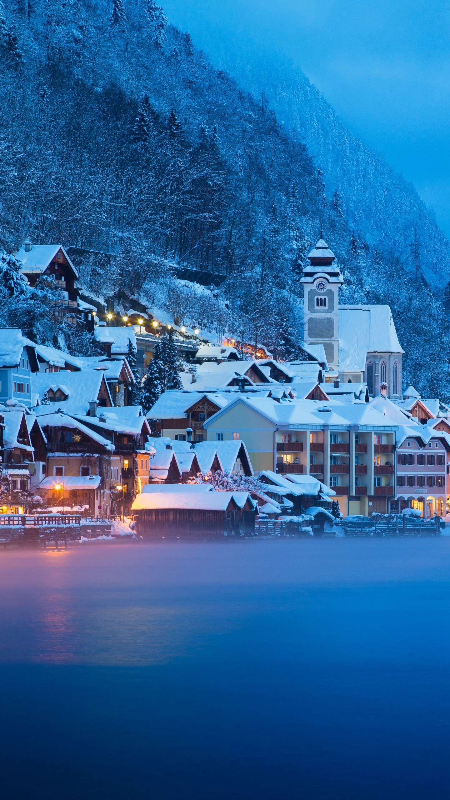 "Hallstatt, Austria. One of Europe's most worthy ten towns, rich in salt, is also known as ""the world's oldest salt capital."""