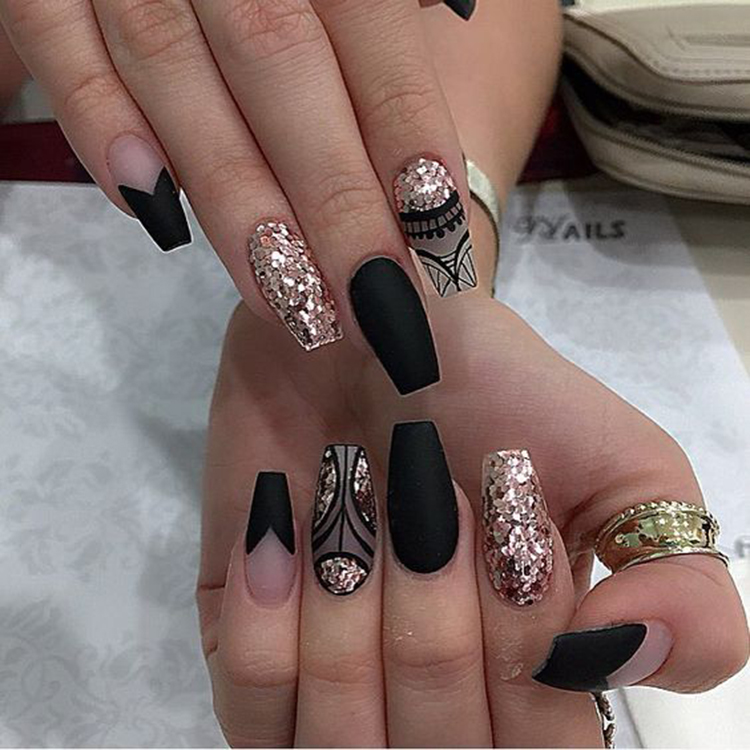 74 Cute Looks For Matte Nails You Need to Try Right Now