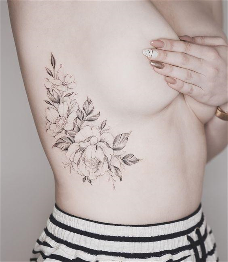 Simple Tattoo ; Flower Tattoos; Rose Tattoos; Beautiful Tattoos; Sex Tattoos, Body Painting, Rib Tattoos, tattoo designs