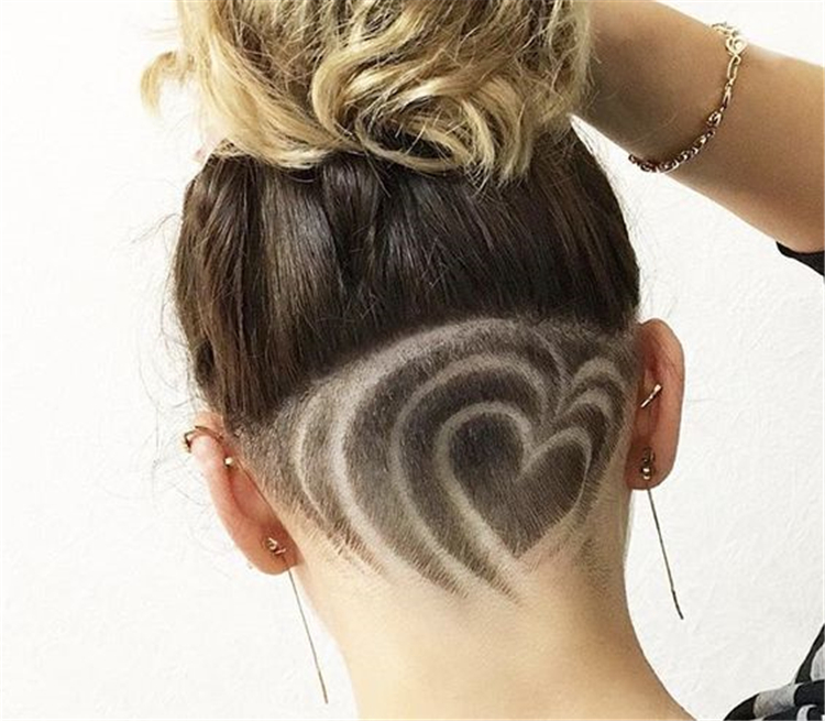 Unique Chic Undercut Hairstyles Designs; Undercut Designs; Unique Hairstyles