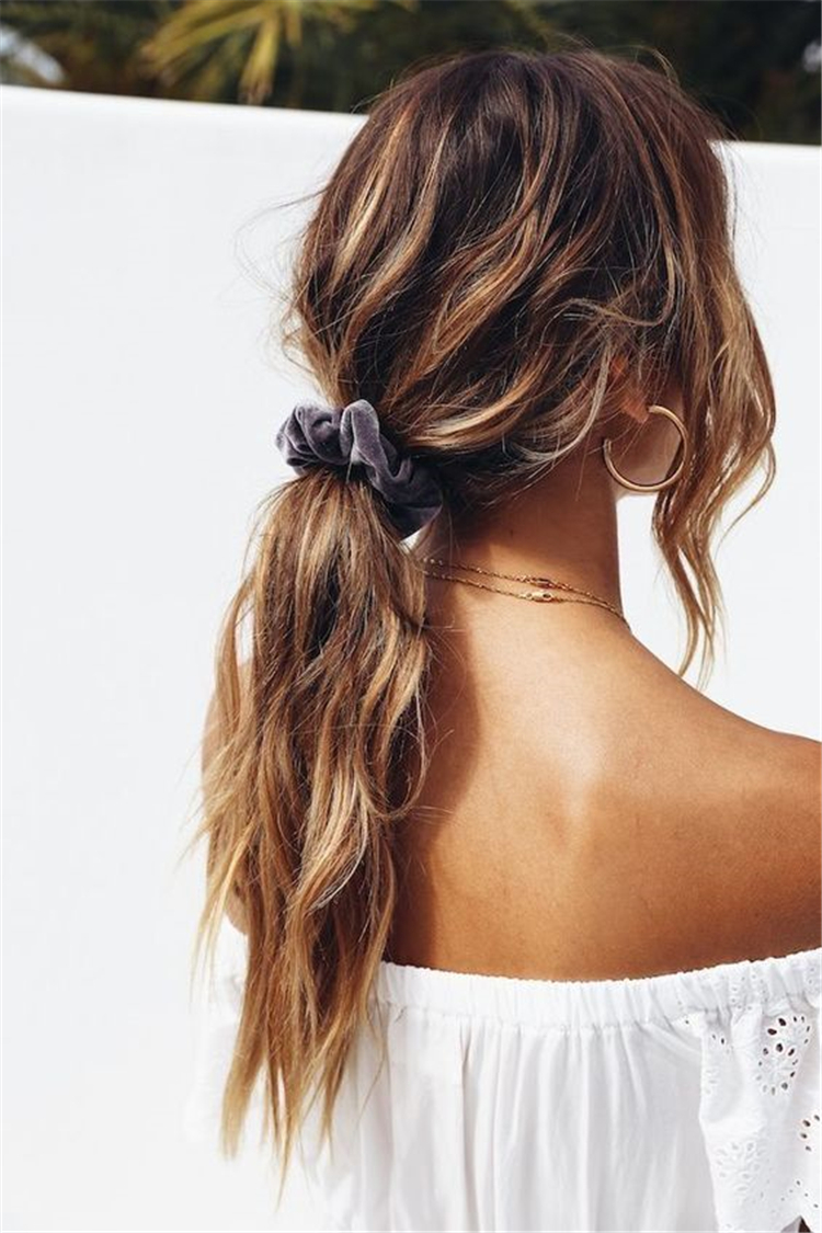37 Easy Twisted Low Ponytail Hairstyles