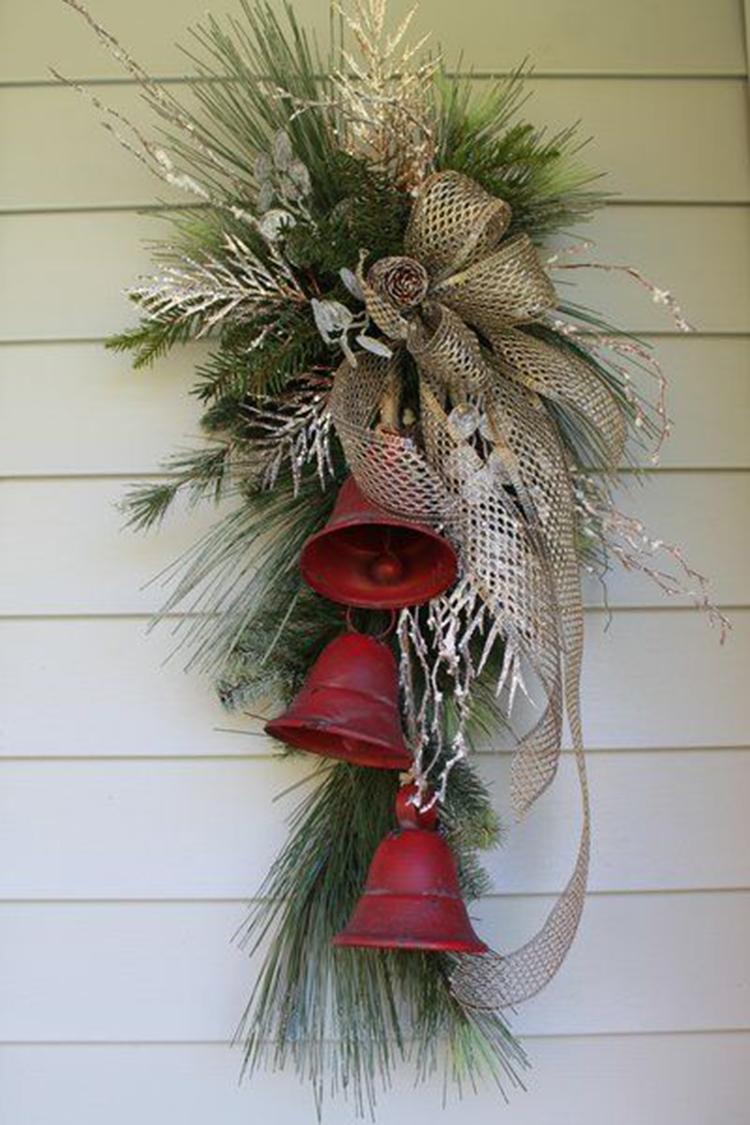 Easy and Simple Christmas Decorations; Christmas Crafts; Christmas Decor DIY; Rustic Natural Decoration; Home Decor; #Christmasdecor