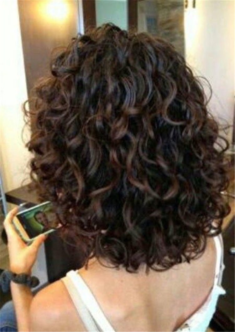 Short Curly Thick Hairstyles Trend in 2019