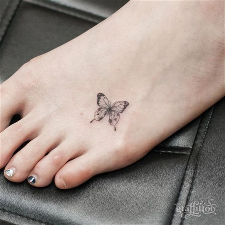 get some inspirations from these mini tattoo; mini tattoos; meaningful tattoos; butterfly tattoos #minitattoos #butterflytattoos