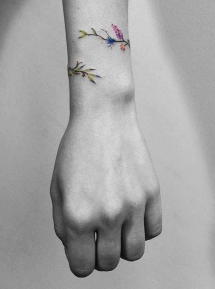 30 Mini Tattoos On Wrist Meaningful Wrist Tattoos Sumcoco Blog