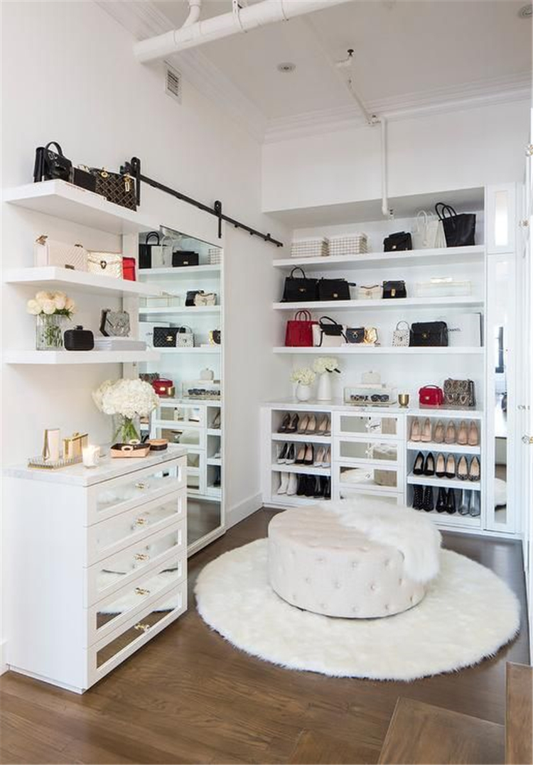 closet organization ideas; walk in closet ideas organization; small walk in closet ideas; closet designs; #homedecor; #closetdesign