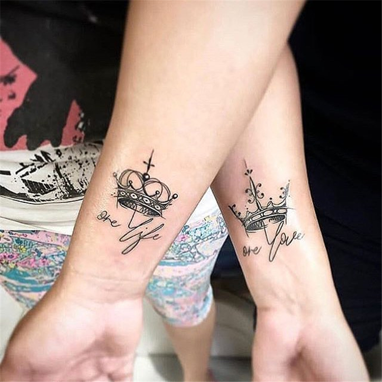 matching couple tattoos ideas, couple tattoo ideas, couple tattoos, matching couple tattoos, #coupletattoos
