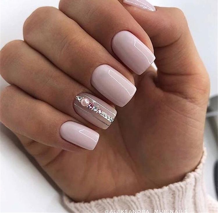 spring square acrylic nails designs; square acrylic nails; spring nails; white nails; pink nails; acrylic nails; square nails; square acrylic nails designs; short nails;#nailsart