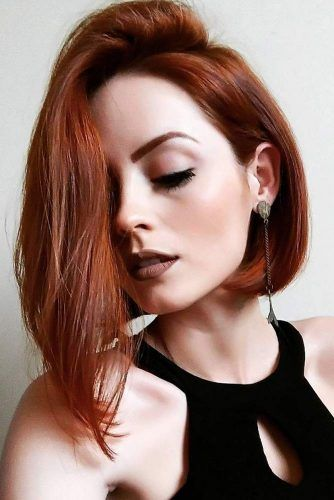 chic short asymmetrical lob hairstyles; coolest hairs color trends in 2019; trendy hairstyles and cuts 2019; women hair hairstyles #lobhairstyles