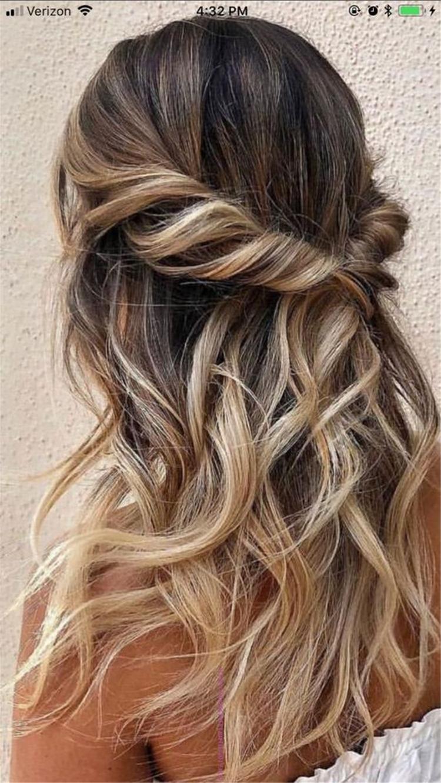 Half Up Wedding Hair.25 Glamorous Wedding Hair Half Up Half Down Hairstyles Sumcoco