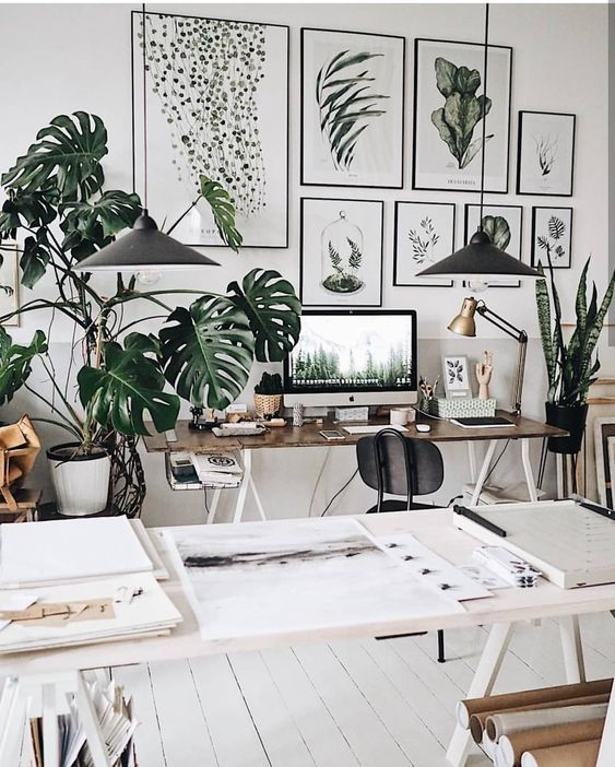 home workspace design inspirations; home office storage ideas for small spaces; home office ideas; #homedecorideas #homedecor #homeideas