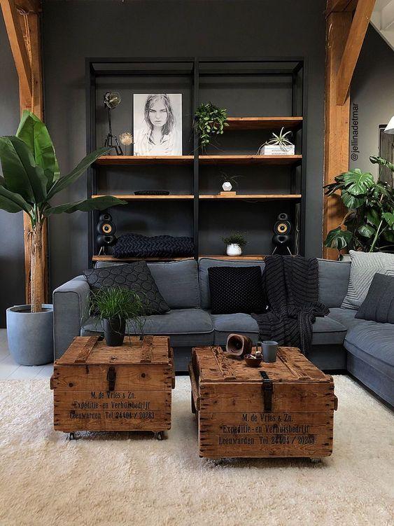 industrial living room decor ideas; living room decor on a budget; modern Living Room; modern farmhouse living room; #livingroomdecor