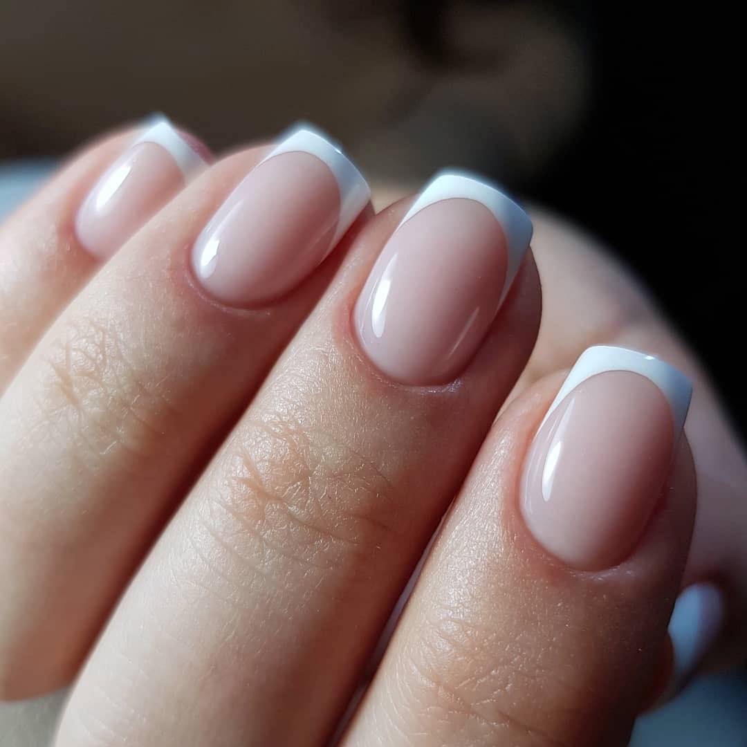 Acrylic nails short almond - New Expression Nails