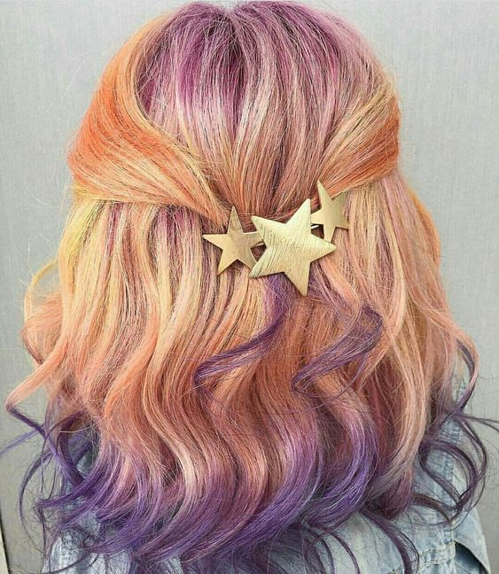 52 Ombre Rainbow Hair Colors To Try 2