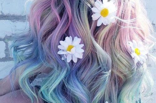ombre rainbow hair colors; coolest hairs color trends in 2019; trendy hairstyles and colors 2019; women hair colors; #haircolor