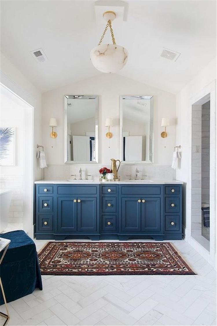 small bathroom remodel on a budget; bathroom vanities; bathroom ideas; bathroom mirrors; bathroom remodel; bathroom cabinets; bathroom wall cabinet; #bathroomdecor