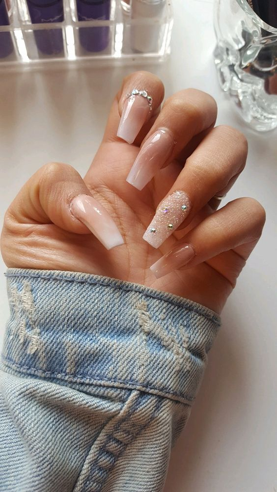 Nail Powder: 39 Birthday Nails Art Design That Make Your Queen Style