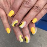 flower coffin nails art designs; nails art designs summer; nails art summer #coffinnails