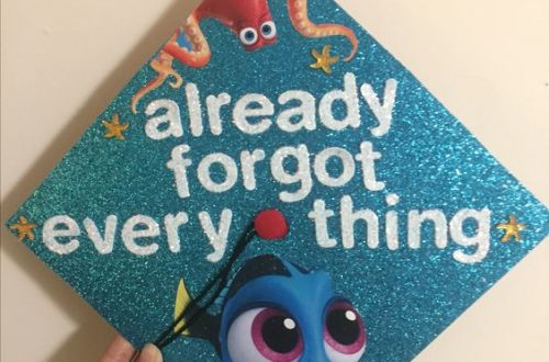 graduation cap decoration; graduation cap designs college; graduation cap ideas; graduation party ideas #graduation