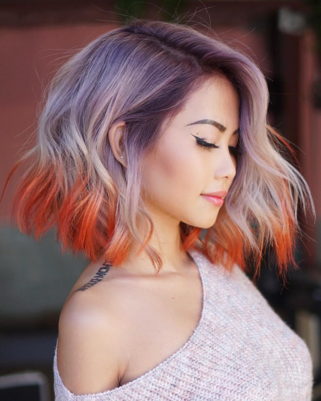 cute natural hairstyles for medium hair; medium hair styles for women; medium hair styles for women with layers; medium hair styles colors idea; ombre color for medium hair