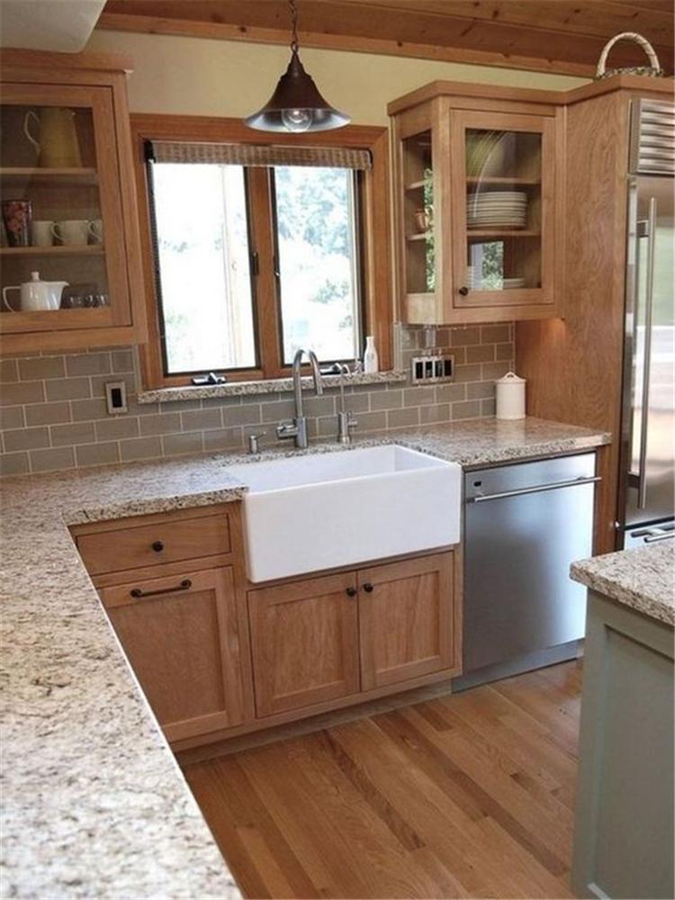 classical modern farmhouse kitchen decor ideas; kitchen cabinets organization; kitchen ideas on a budget; farmhouse kitchen cabinets; #kitchendecor