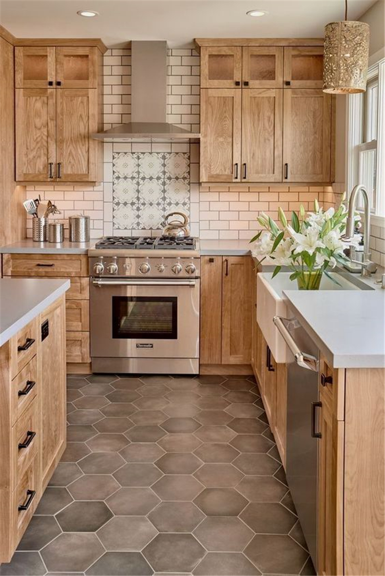 38 Classical Modern Farmhouse Kitchen Decor Ideas Sumcoco