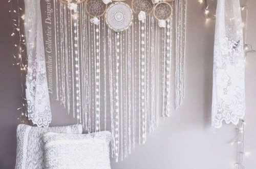 DIY Dream Catchers Decor Your bedroom; Home decor boho style; how to make a dream catchers; DIY wall decor ideas