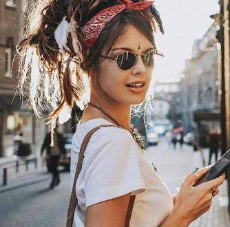 hair trends Summer 2019; bohemian hairstyles; hair trends 2019 color; hairstyles; blonde hair trends 2019