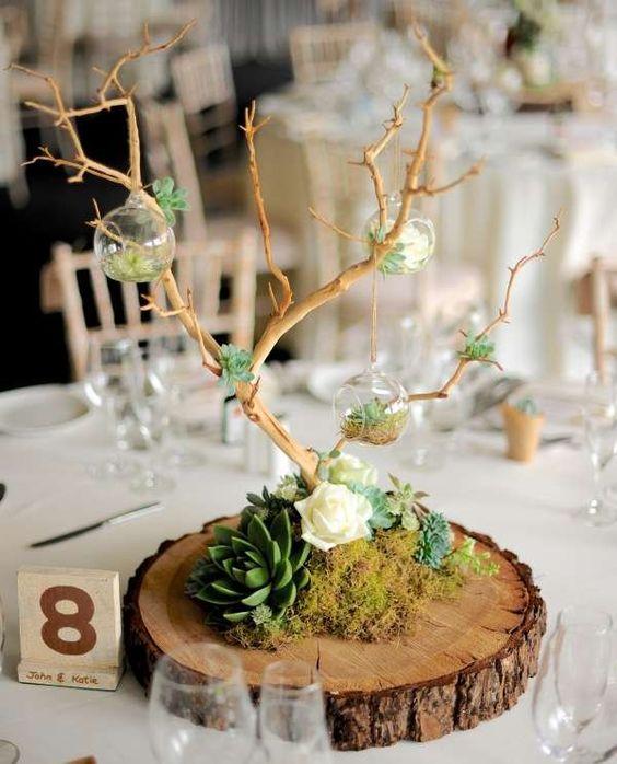 elegant wedding table decorations; wedding table centerpieces rustic; plant table centerpieces; table centerpieces wedding