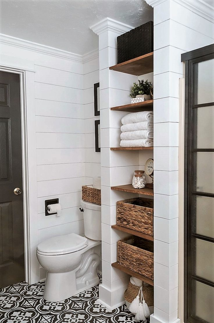 Bathroom Shelf And Storage Ideas