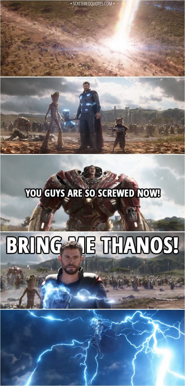 Avengers Infinity War quotes; marval movies; Avengers