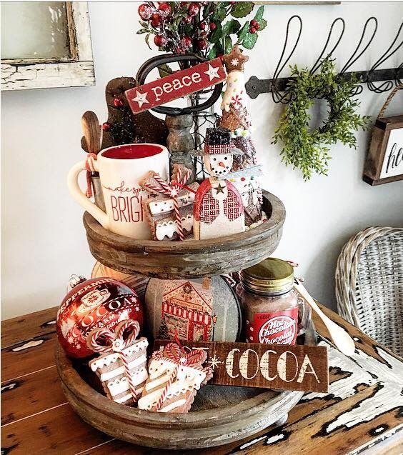 Christmas Decorations, Christmas tree Decorations, Table Decorations, DIY Christmas Centerpiece, Christmas Crafts, Christmas Decor DIY, Rustic Natural Decoration,