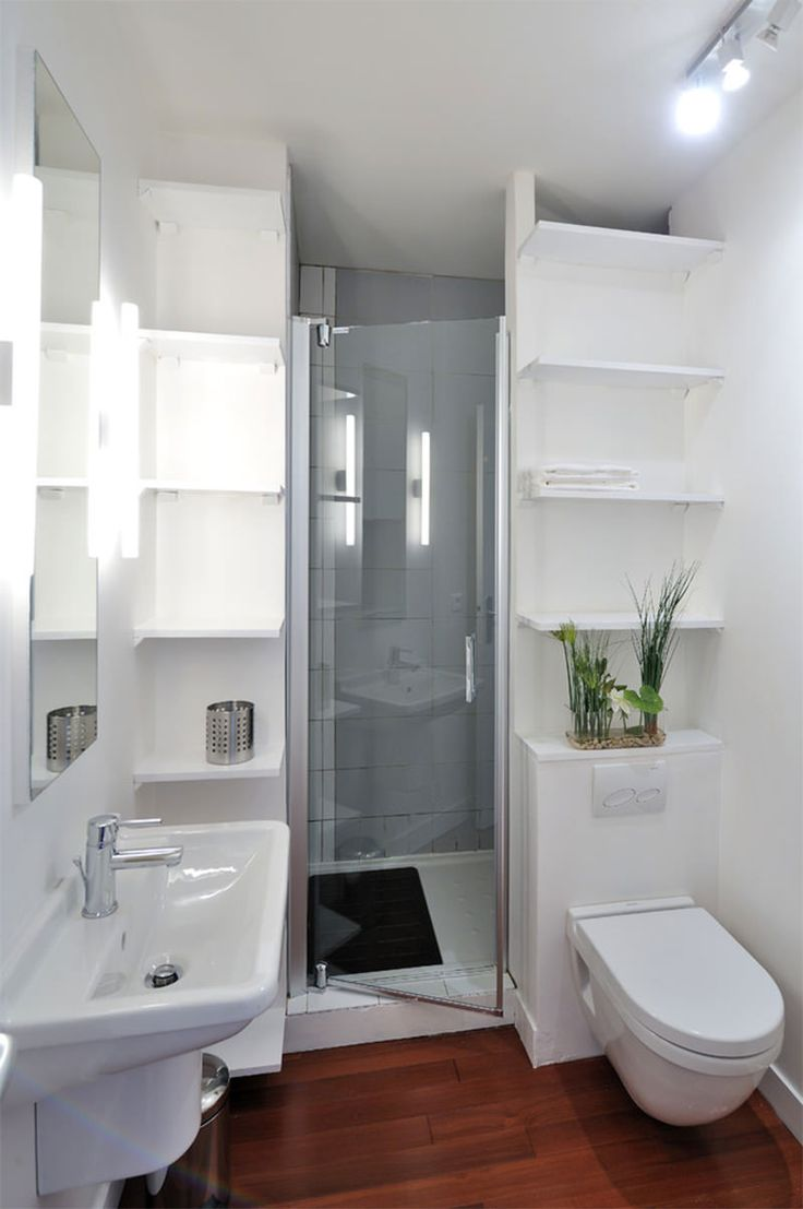 Créer Une Salle D Eau 28 well organized built-in bathroom shelf and storage ideas