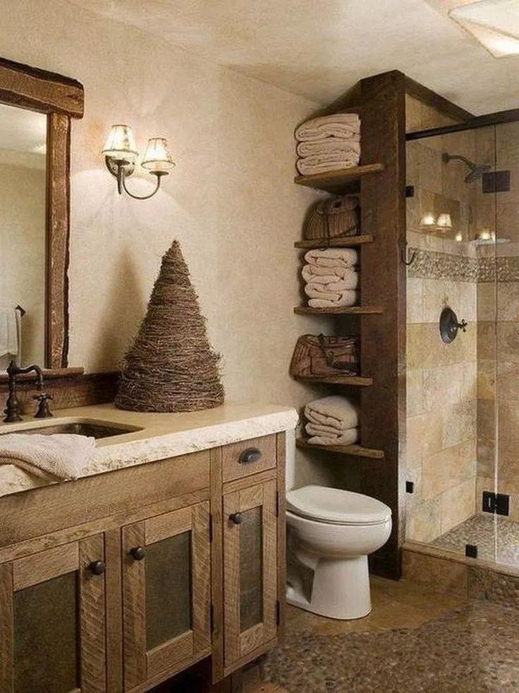 28 Well Organized Built-in Bathroom Shelf And Storage Ideas