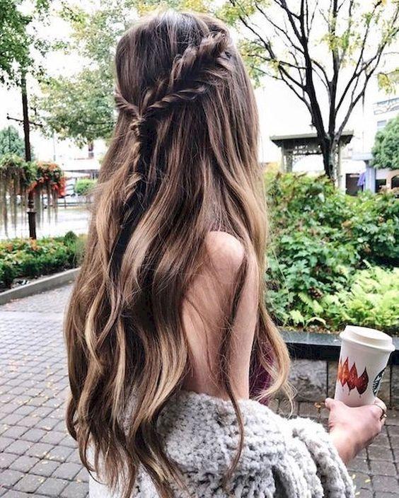 2019 Dutch Braid Tutorial; Side Dutch Braid Styles; Half-up Dutch Braid; trend hairs in 2019; #hairstyles
