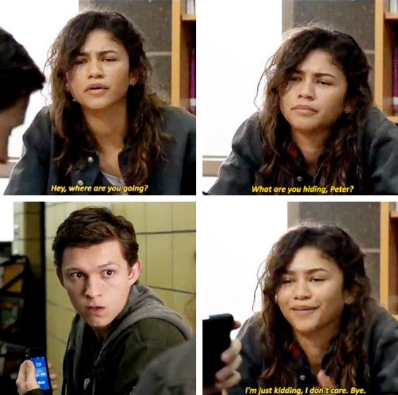 spider man far from home; funny quotes of the spider man far from home; #movies