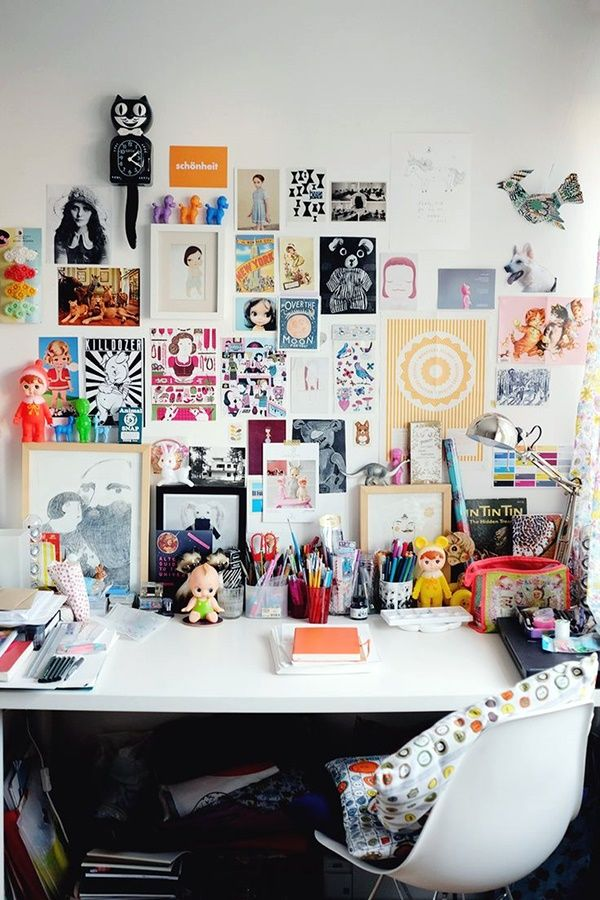 How to Create an Inspiring Home Office Space, home office ideas, home work space, home office decorations