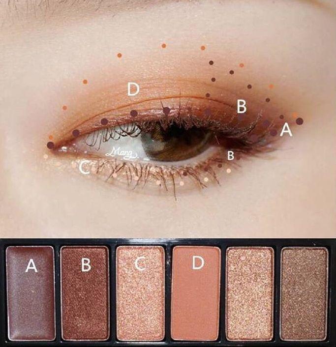 eye makeup tutorial; eye makeup for brown eyes; eye makeup natural; #Eyemakeup