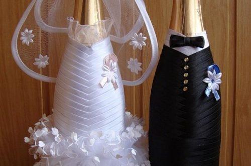 wedding bottle decoration,decorative bottles,bride and groom wine bottle covers,pimped bottles wedding,wedding decoration