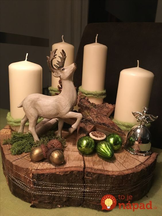 Simple And Popular Christmas Decorations, Table Decorations, Christmas Candles, DIY Christmas Centerpiece, Christmas Crafts, Christmas Decor DIY